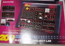 MANUAL ONLY - Science Fair 200 In One Electronic Project Kit Lab Cat.No. 28-262