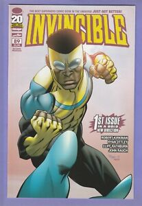 Invincible 89 Second Printing pink variant Kirkman Image optioned Amazon TV 1st