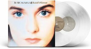 Sinead O'Connor - So Far...The Best Of - Double Clear Vinyl LP *New & Sealed*