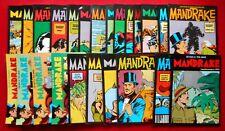 MANDRAKE   COLLANA NEW COMICS NOW  EDIZ. COMIC ART  SEQUENZA DI 46 NUMERI