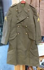 "Dutch Army Greatcoat/Overcoat - 36"" Chest"