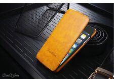 Premium Flip Case für Apple iPhone 6 HandyHülle Tasche Hülle - Gelb (11GE)