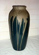 Superbe Vase LEON POINTU h:35cm Coulures Grès SAINT AMAND PUISAYE dalpayrat 19th