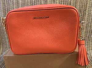 Michael Kors Medium Pink Grapefruit Shoulder Bag NEW