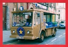 Photo ~ Express Dairy G897MHE: Gold Battery Electric Milk Float - Liverpool 2002