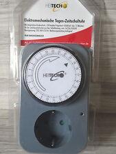 Mechanische Zeitschaltuhr Tages - Zeitschaltuhr mit.integriertem Kinderschutz