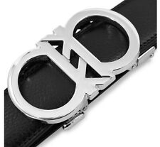 Sterling Silver Automatic Belt Buckle Luxury Women's High Polish Pure 925