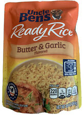 UNCLE BEN'S Ready Rice: Butter & Garlic, 8.8 oz, 12 pack