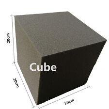 2 PCS Acoustic Cube Foam Charcoal 20cmx 20cm x 20cm Studio Foam in Corner Wall