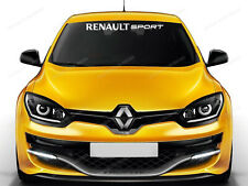 Renault Sport Sticker for Windshield Scenic, Megane RS, Clio, decals, emblem #19