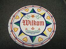 """ZOOK NOVELTIES HEX SIGN, 16"""" Wilkom (H-13)"""