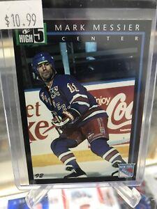 1992 High 5 Preivew Sample Mark Messier