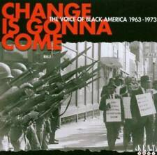 CHANGE IS GONNA COME -VOICE OF BLACK AMERICA New & Sealed 60s 70s SOUL CD (KENT)