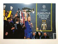 1996 Bolaffi Folder Juventus Campione D'Europa 1995/96 Coppa Campioni Champion
