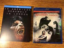 An American Werewolf In London Blu-Ray + Rare Limited Slipcover New Horror 1981