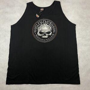 NEW Harley Davidson Men's XXXL 3XL Sleeveless Tank Top Shirt Los Angeles CA