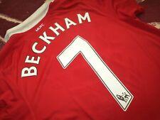 Jersey nike Manchester united David Beckham (L) 2011 game testimonial Giggs rare