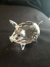 b50a96a70 SWAROVSKI MEDIUM PIG V2 - BOXED 010031 - RETIRED