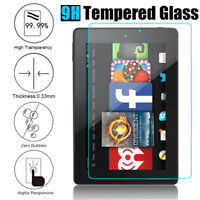 For Amazon Kindle Fire 7/ 7th/ HD 8 2017 9H Tempered Glass Screen Protector Film
