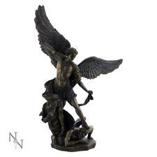 Bronze Effect Archangel Angel Figurine - Michael 37cm
