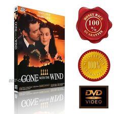Gone with the Wind (1939) - Clark Gable, Viviien Leigh - NEW DVD -E