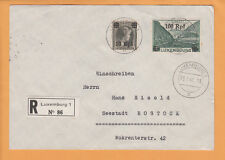 Nazi Germany Occupied Luxemburg 3 Registered Covers 2004 Michel Value $250++ Z12
