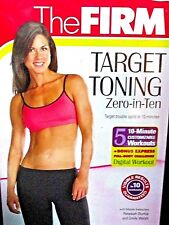 The Firm: Zero in Ten NEW! DVD, Target Toning ,Workout,ABS,Legs, Arms, Bun, Tone