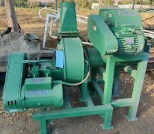 3 Hpjacobson Model 12 Fb Air Swept Hammer Mill W / 7.5 Hp Blower Nice!