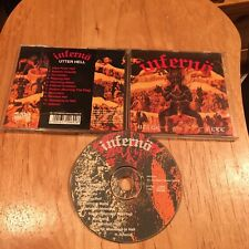 Inferno - Utter Hell CD 1st French press aura noir ved buens ende gehennah sodom