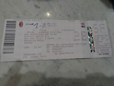 Billet Ticket Tim Cup 2011/2012 Milan vs Juventus 08/02/2012 au Bague