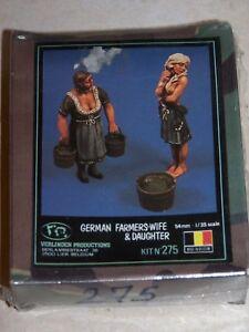 VERLINDEN N°275 1/35ème GERMAN FARMERS WIFE & DAUGHTER