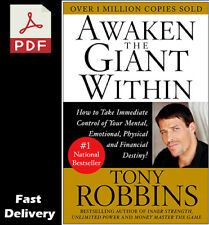Awaken the Giant Within by Tony Robbins [P.D.F-Digital]
