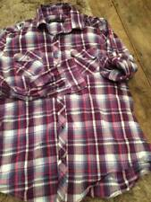 Guide London large purple/pink checked shirt, vgc, cotton.