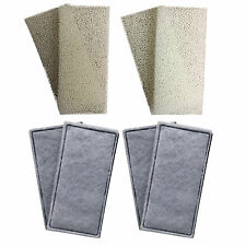 4 x Compatible Fluval U2 Foam and Polycarbon Cartridges Internal Filter Sponges