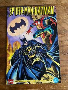 Spider-Man and Batman 1995 Marvel & DC Comics Joker Carnage Crossover 1995 Q