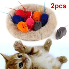 Hot Pet Cat Kitten Squeak Sound Funny Play Mouse Squeaky Playing Toys