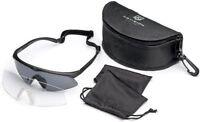 APEL Revision Sawfly Ballistic Eyewear Military Kit Frames Dark & Clear REGULAR