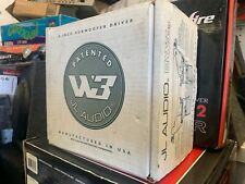 Old school JL Audio 8W3V3-8  8-inch 8-ohm Subwoofer * NEW in OEM PACKAGING *