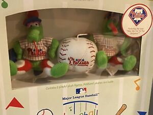 Baseball Baby Crib Mobile - Philadelphia Phillies MLB by Mascotopia NEW