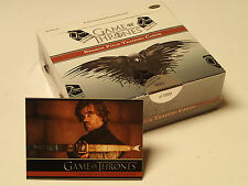 Game of Thrones Season 4 Trading Cards!  Factory Sealed Box + Promo Card P1