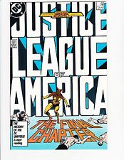 Justice League of America #261 (Apr 1987, DC) VF/NM