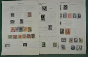 LITHUANIA STAMPS SELECTION ON 13 ALBUM PAGES  (Z132)