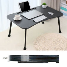 Folding Lazy Laptop Table Large Bed Tray Foldable Portable Multifunction NEW