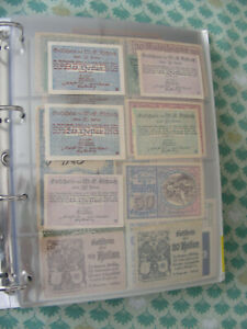 Österreich  Austria  520  Notgeldscheine Heller  Kleine Sammlung Notgeld  A - Z