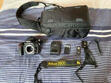 Nikon D D600 24.3Mp Digital Slr Camera - Black (Body Only) - 38553 Shots