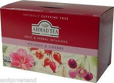 Ahmad TEA-Rosehip & Cherry bacche di rosa canina & Ciliegio - 20 bustina del tè