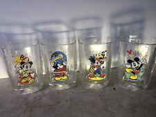 Officially Licensed Walt Disney World Millennium Collectible Glass Tumbler Set