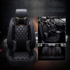 Black Full Set Seat Cover Fit Toyota Corolla Camry RAV4 Yaris Prado Kluger Aurio