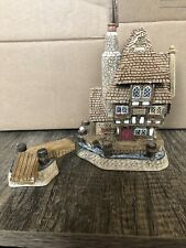 1997 David Winter Cottages The Harbourmaster's Watch Tower Handmade No Box