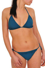 Burberry bikini set Femme L Bleu  unicoloré